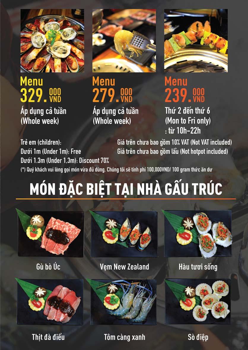 Menu Panda Buffet - Aeon Mall Bình Tân    1