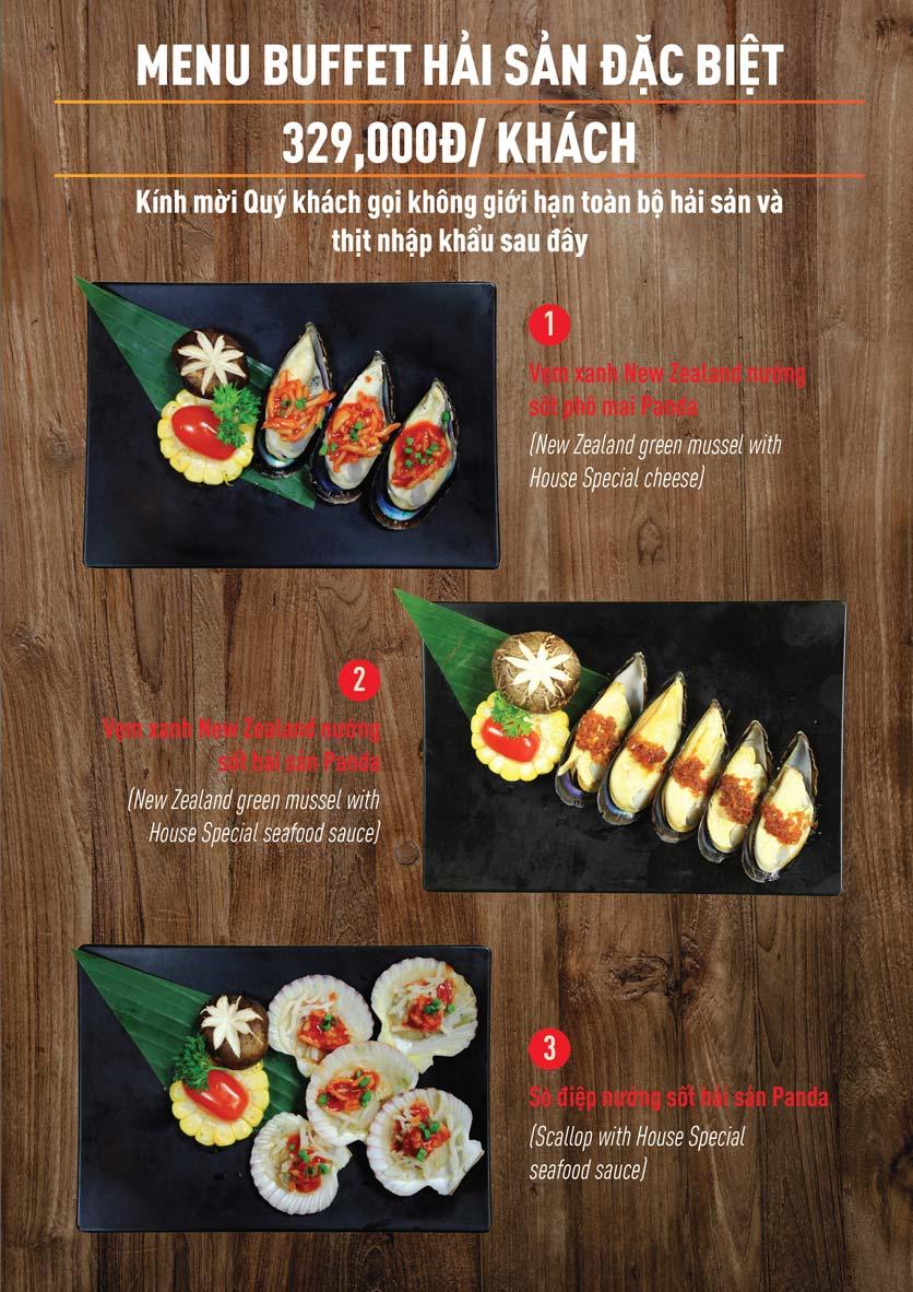 Menu Panda Buffet - Aeon Mall Bình Tân    3