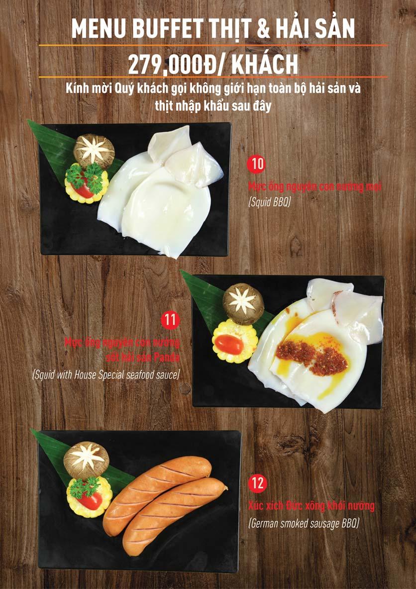 Menu Panda Buffet - Aeon Mall Bình Tân    6