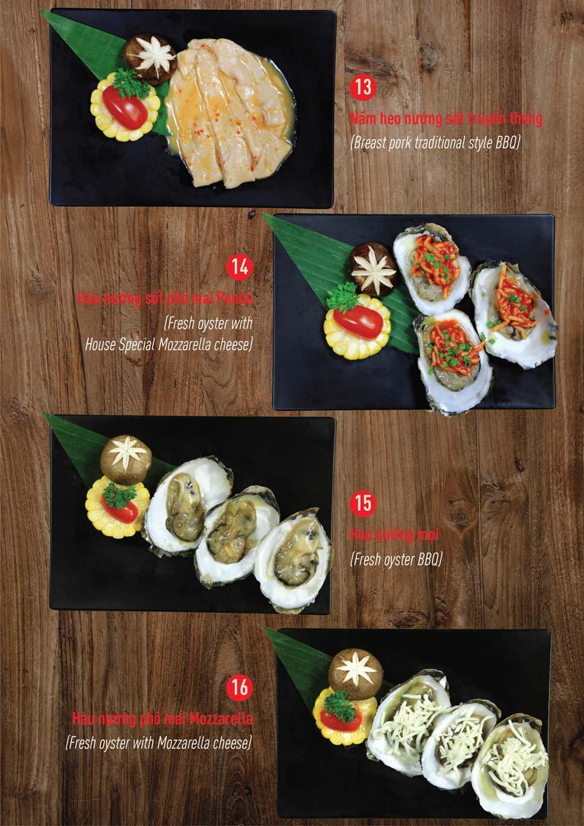 Menu Panda Buffet - Aeon Mall Bình Tân    7