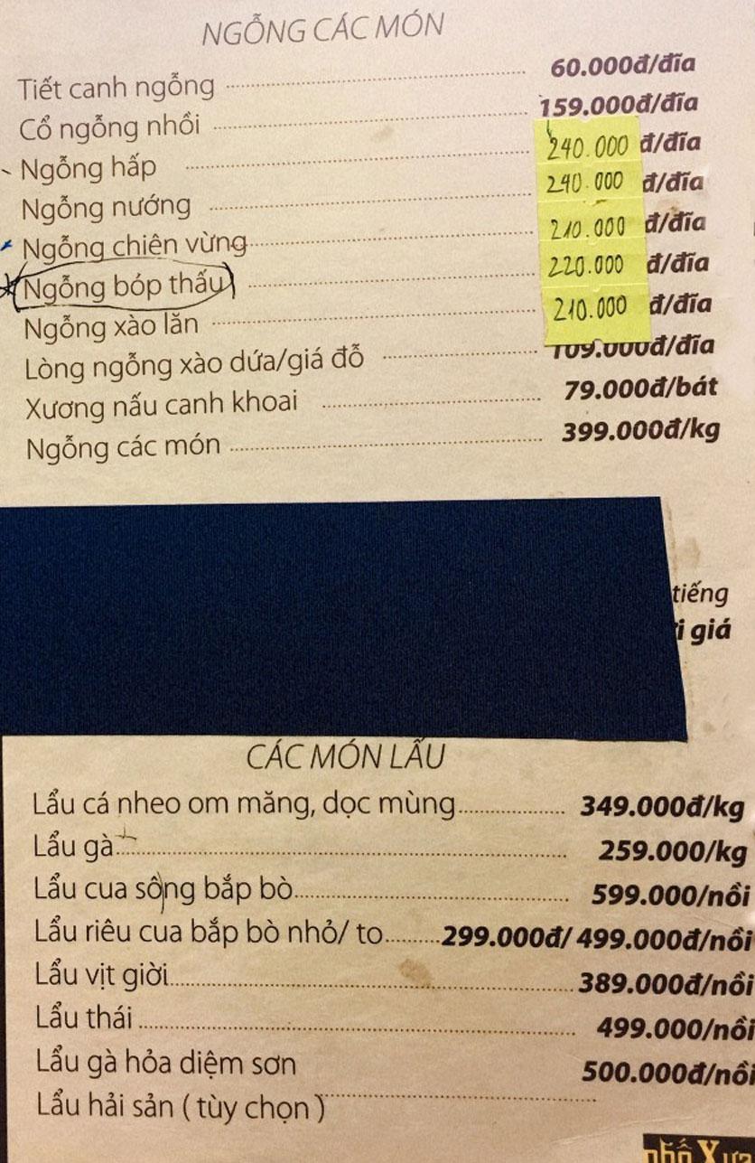 Menu Phố Xưa - Nguyễn Văn Tuyết 8