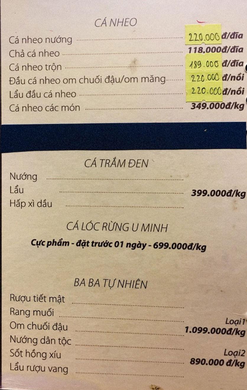 Menu Phố Xưa - Nguyễn Văn Tuyết 9