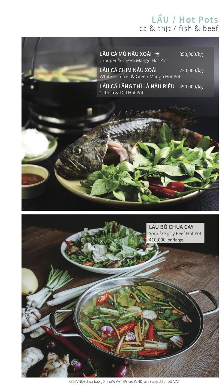 Menu Ẩm thực Hải sản RIVIA - Nguyễn Cư Trinh 15