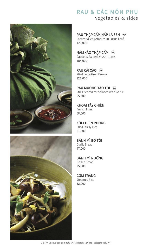 Menu Ẩm thực Hải sản RIVIA - Nguyễn Cư Trinh 17