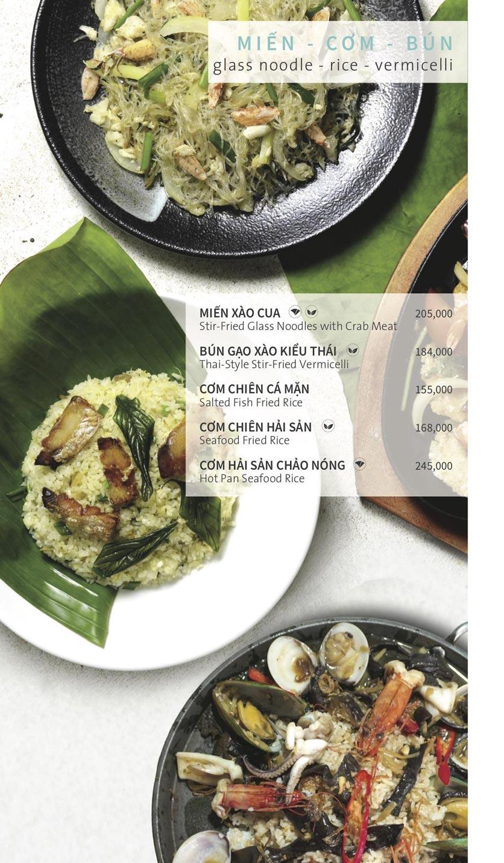 Menu Ẩm thực Hải sản RIVIA - Nguyễn Cư Trinh 18