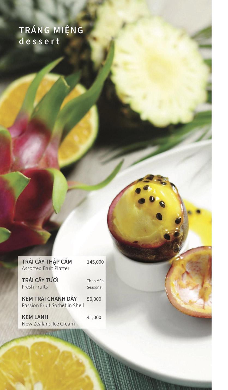 Menu Ẩm thực Hải sản RIVIA - Nguyễn Cư Trinh 19