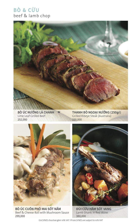 Menu Ẩm thực Hải sản RIVIA - Nguyễn Cư Trinh 9