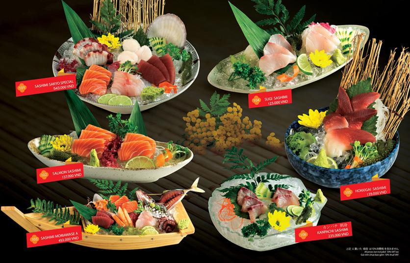 Menu Sakyo Sushi & Hotpot - Lê Thánh Tôn 1