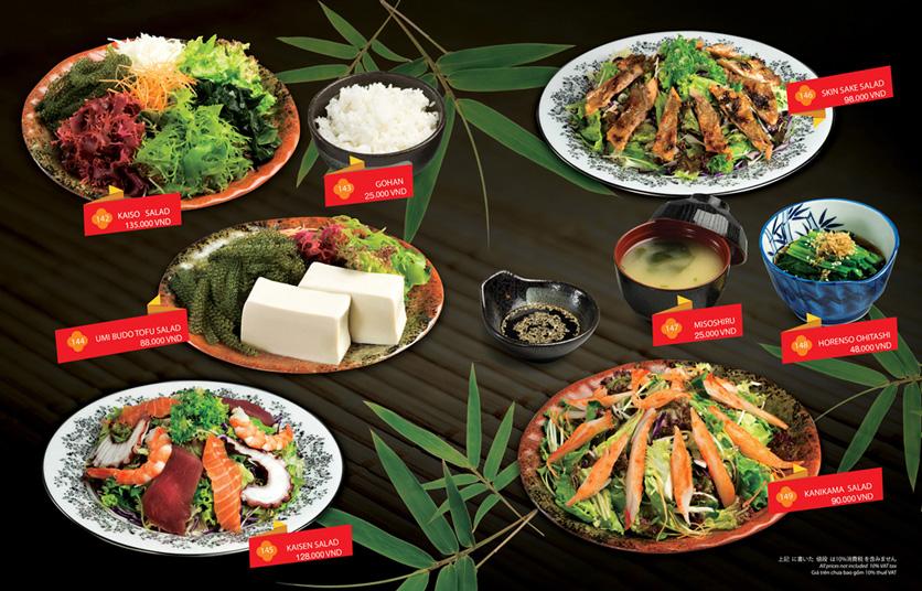 Menu Sakyo Sushi & Hotpot - Lê Thánh Tôn 10