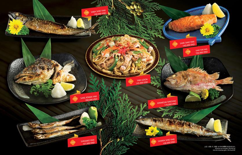 Menu Sakyo Sushi & Hotpot - Lê Thánh Tôn 11