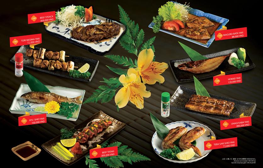 Menu Sakyo Sushi & Hotpot - Lê Thánh Tôn 12