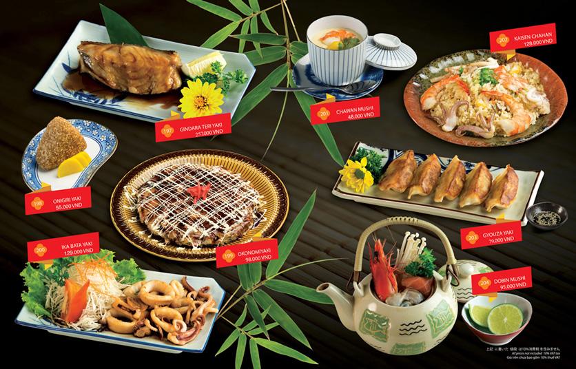 Menu Sakyo Sushi & Hotpot - Lê Thánh Tôn 13