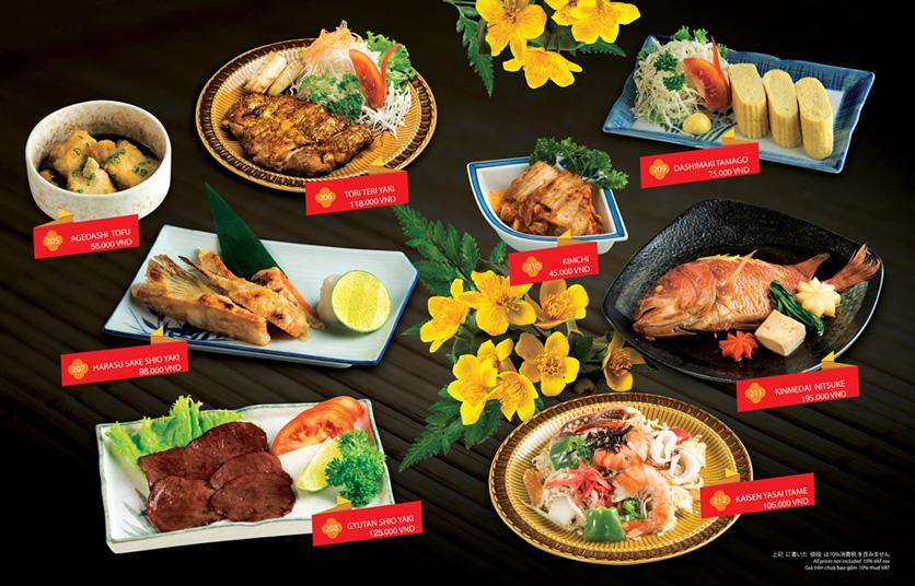 Menu Sakyo Sushi & Hotpot - Lê Thánh Tôn 14
