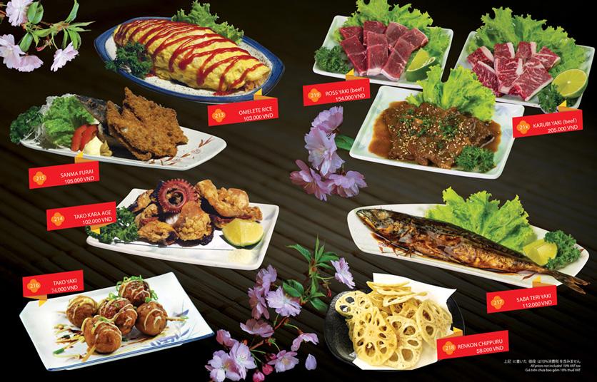 Menu Sakyo Sushi & Hotpot - Lê Thánh Tôn 15