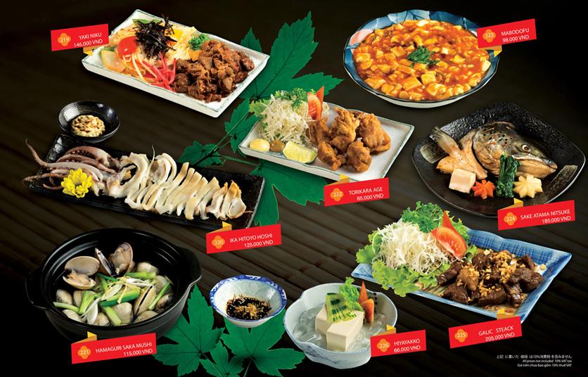 Menu Sakyo Sushi & Hotpot - Lê Thánh Tôn 16