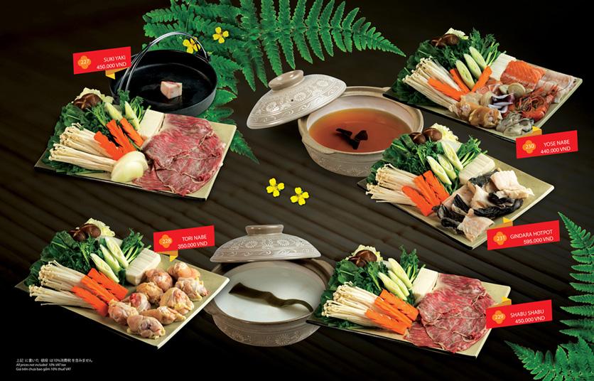 Menu Sakyo Sushi & Hotpot - Lê Thánh Tôn 17
