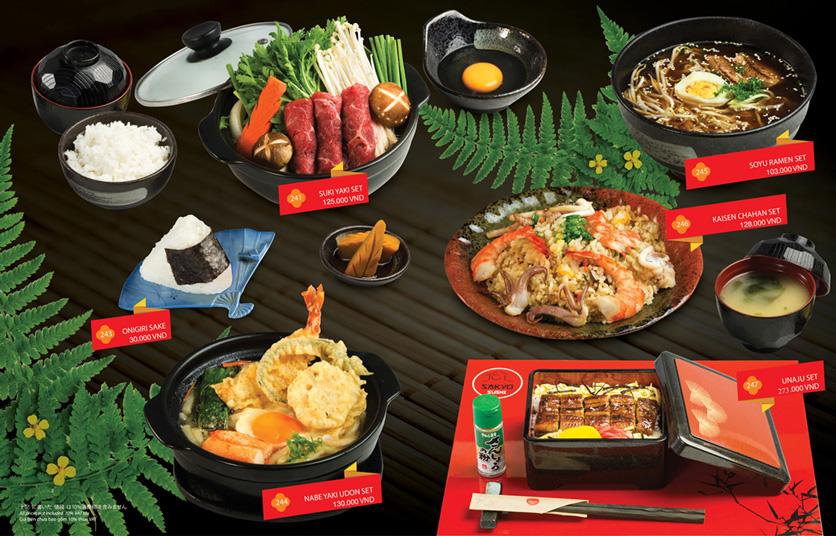 Menu Sakyo Sushi & Hotpot - Lê Thánh Tôn 19