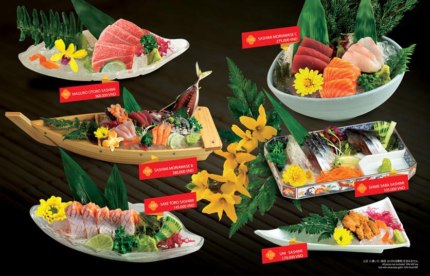 Menu Sakyo Sushi & Hotpot - Lê Thánh Tôn 2