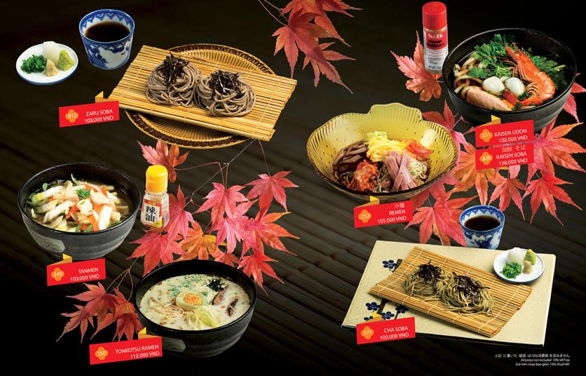 Menu Sakyo Sushi & Hotpot - Lê Thánh Tôn 20