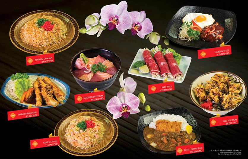 Menu Sakyo Sushi & Hotpot - Lê Thánh Tôn 22
