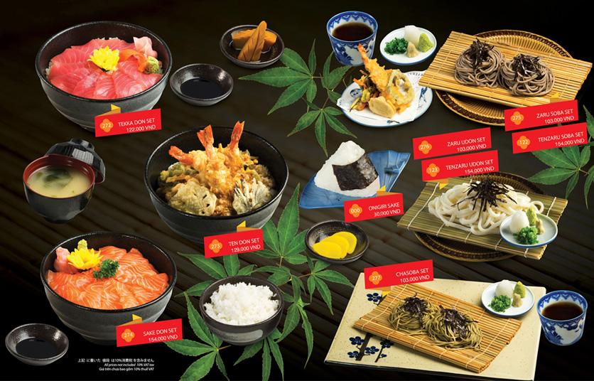 Menu Sakyo Sushi & Hotpot - Lê Thánh Tôn 24