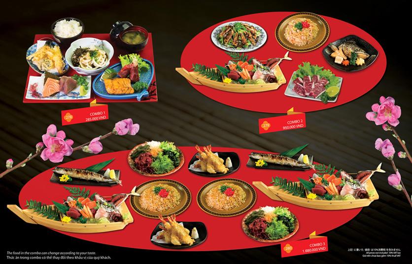 Menu Sakyo Sushi & Hotpot - Lê Thánh Tôn 25