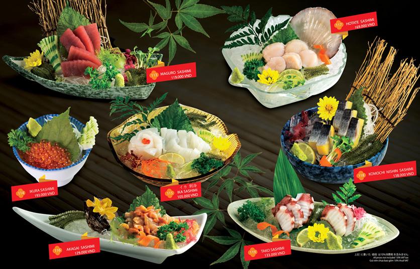 Menu Sakyo Sushi & Hotpot - Lê Thánh Tôn 3
