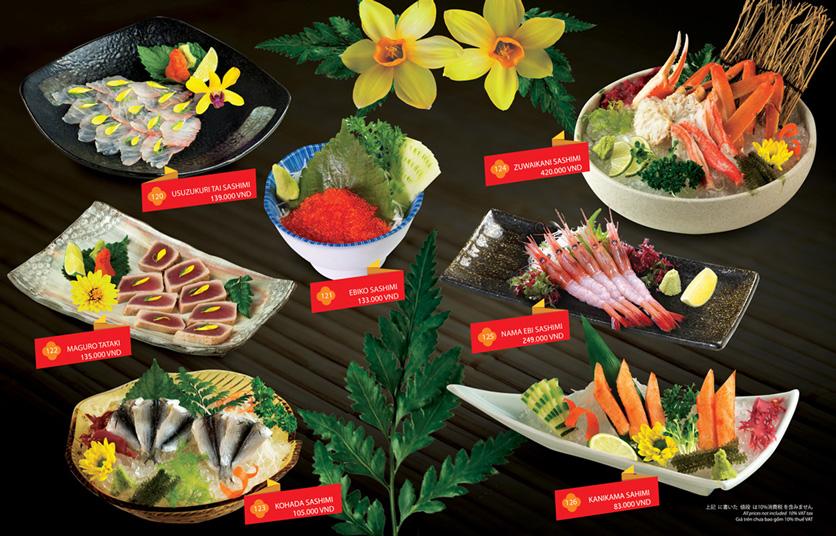 Menu Sakyo Sushi & Hotpot - Lê Thánh Tôn 4