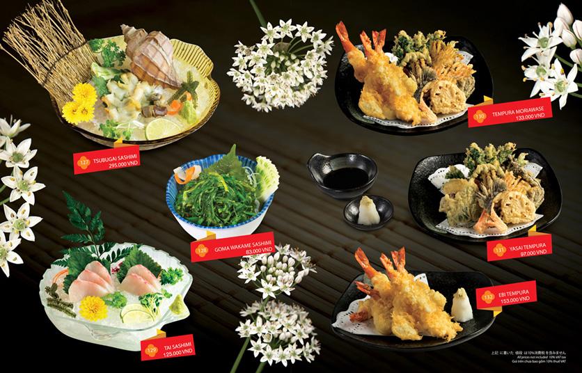 Menu Sakyo Sushi & Hotpot - Lê Thánh Tôn 8