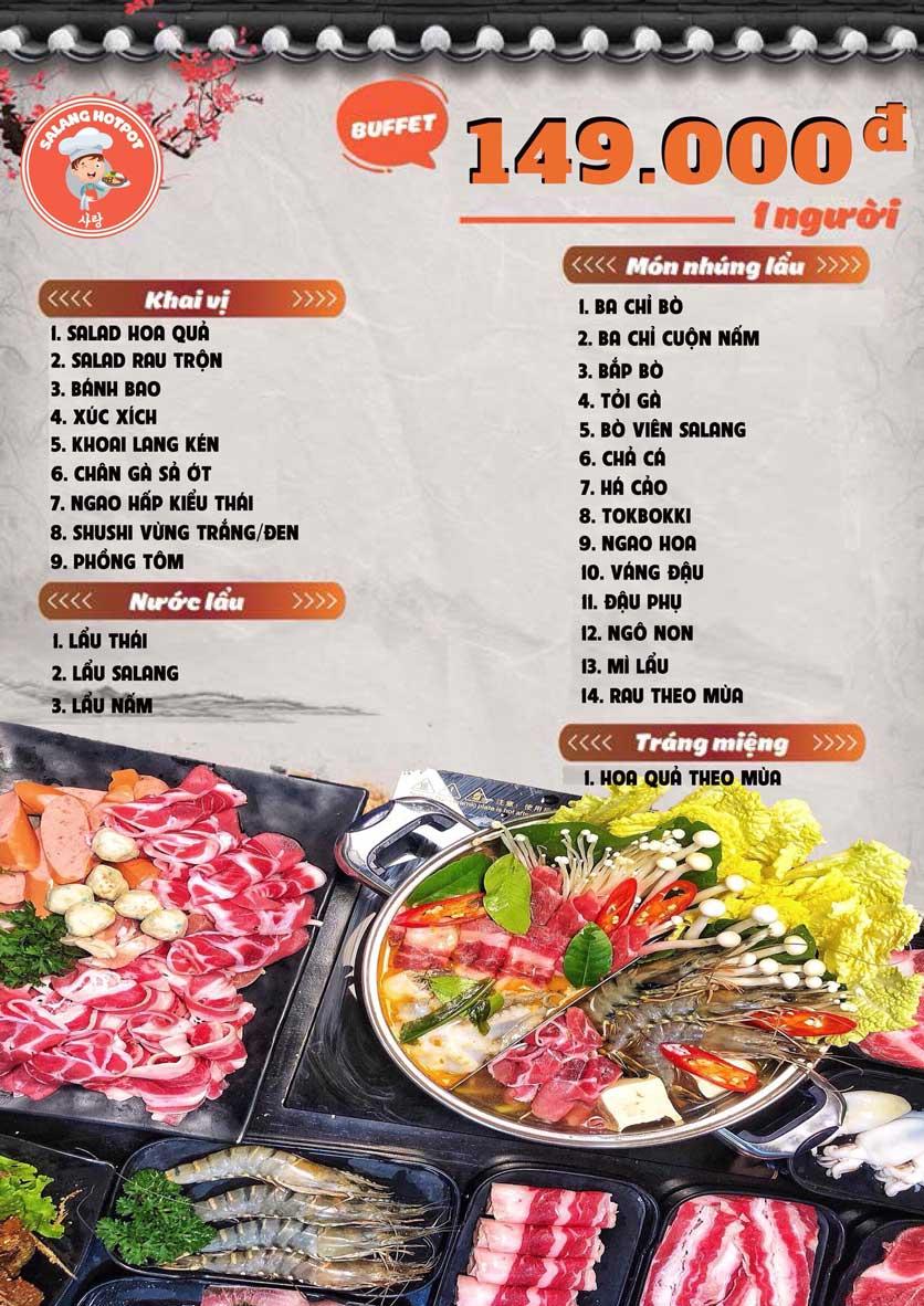 Menu Salang Hotpot - Trần Đại Nghĩa 3