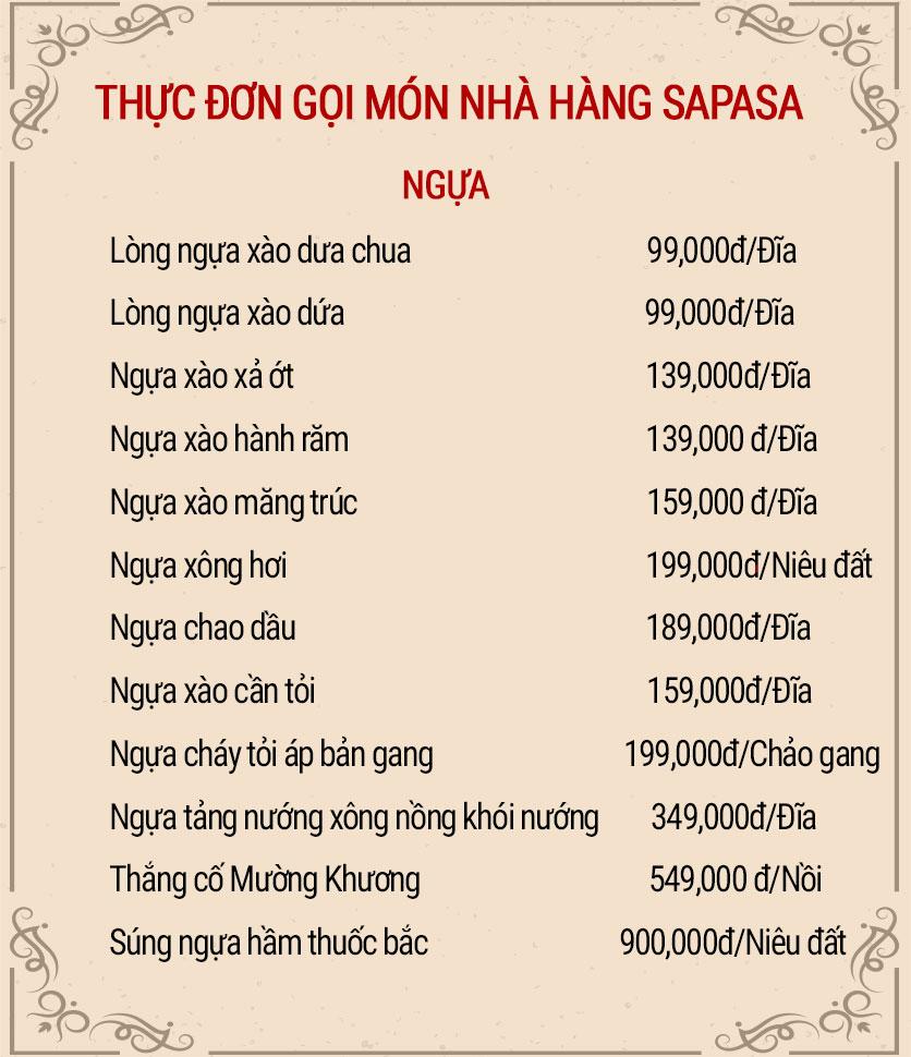 Menu Sapasa – Nguyễn Huy Tưởng  6
