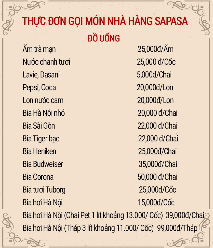 Menu Sapasa – Nguyễn Huy Tưởng  9