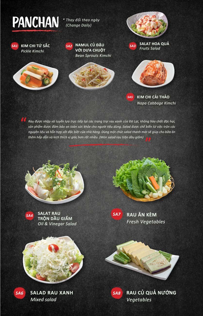 Menu Season BBQ - Bà Triệu 6