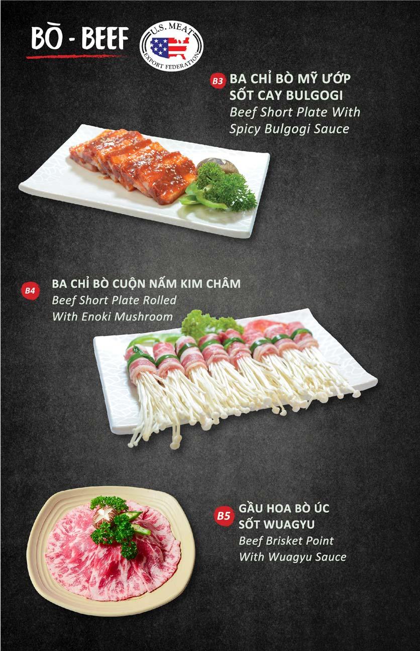 Menu Season BBQ - Bà Triệu 10