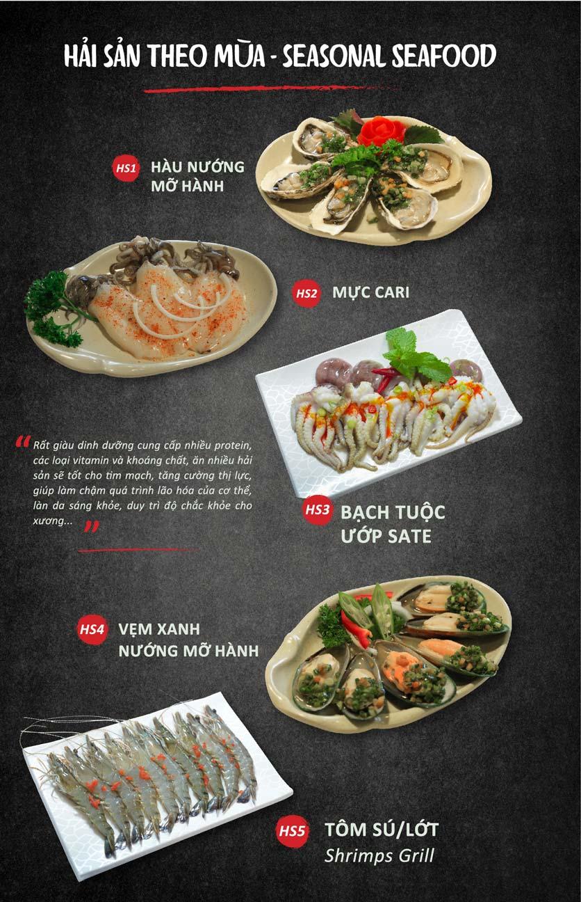 Menu Season BBQ - Bà Triệu 12