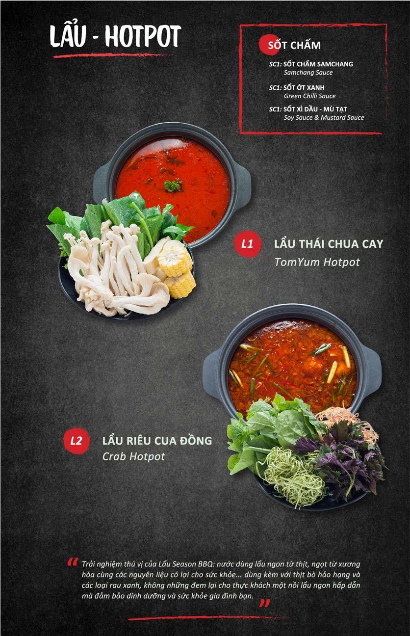 Menu Season BBQ - Bà Triệu 13