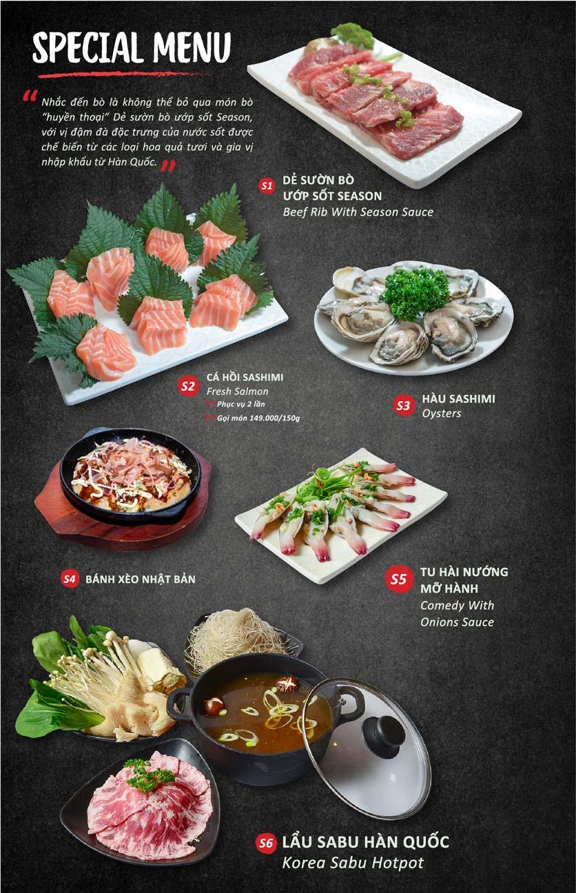 Menu Season BBQ - Bà Triệu 14