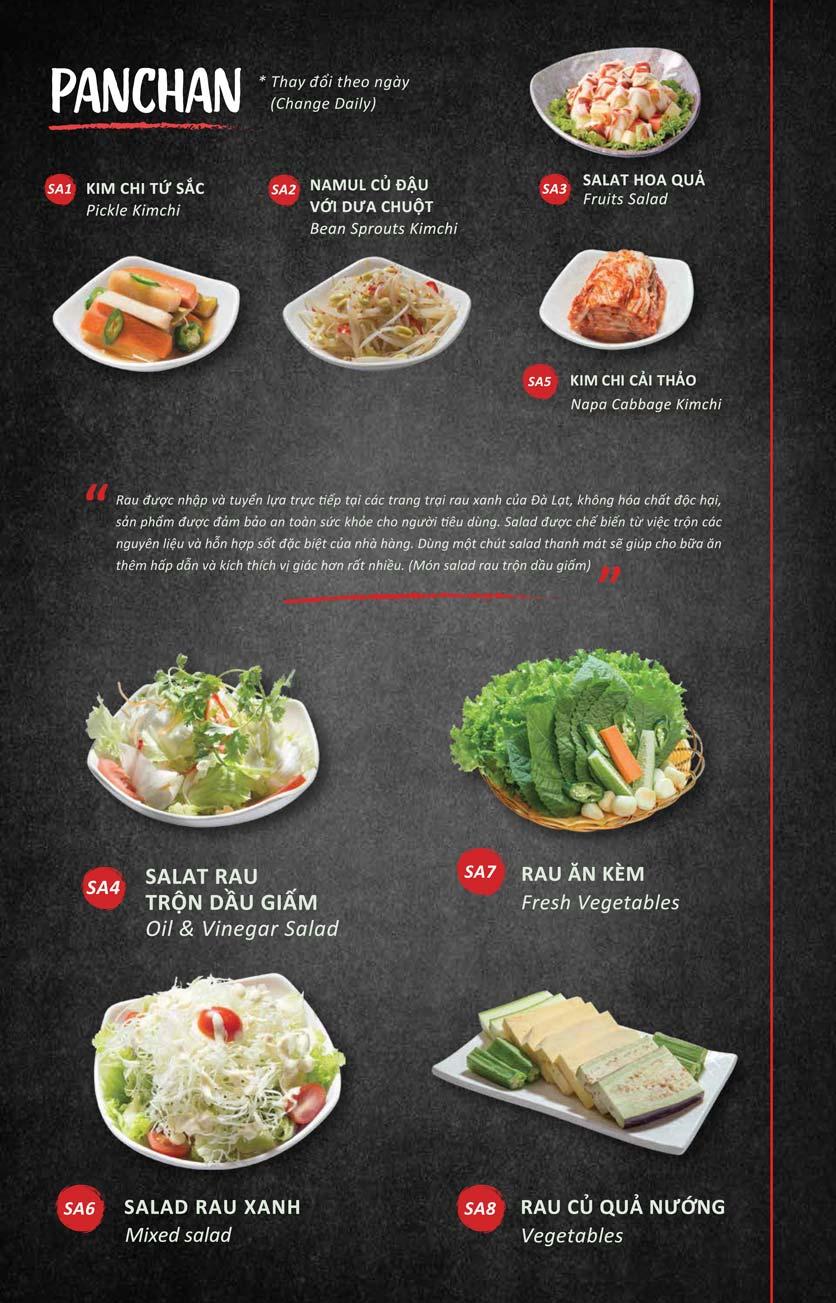 Menu Season BBQ - Bà Triệu 1