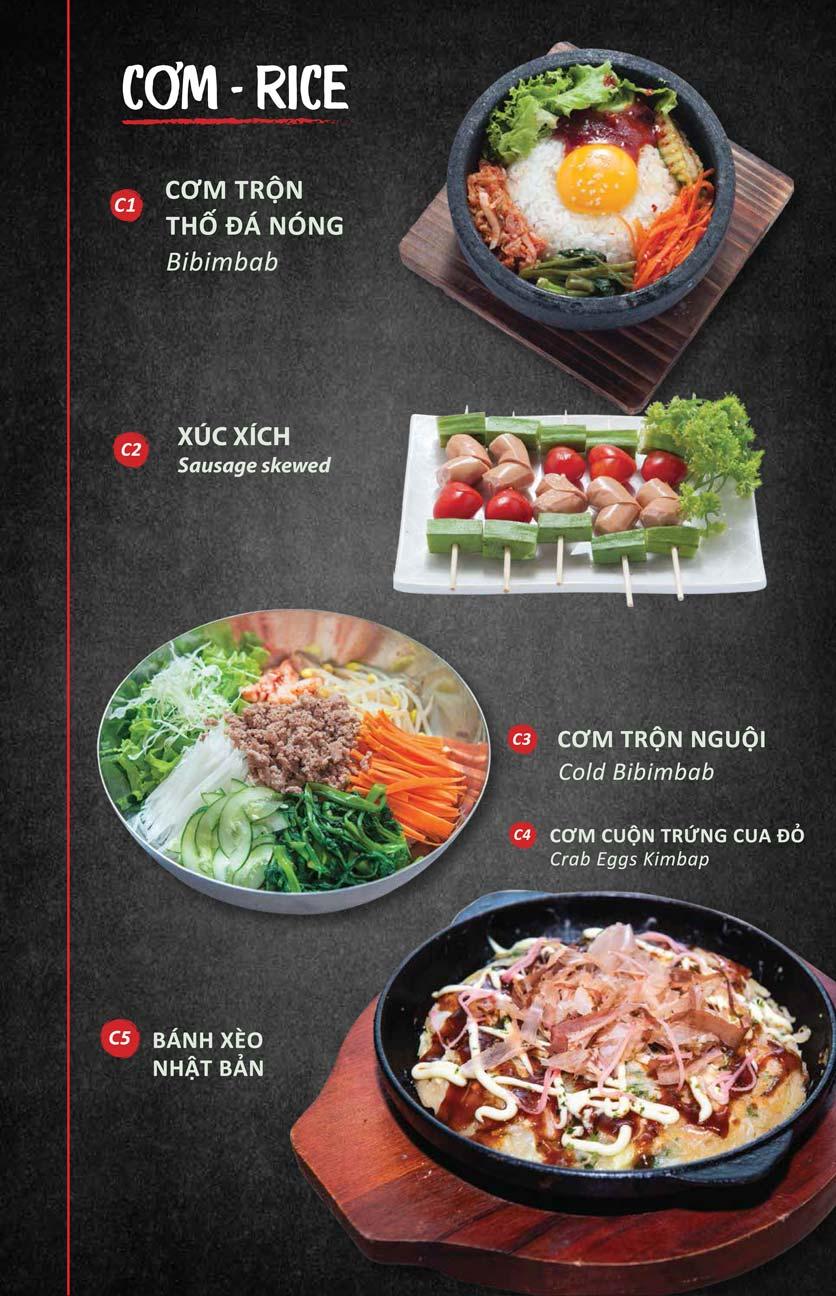 Menu Season BBQ - Bà Triệu 2