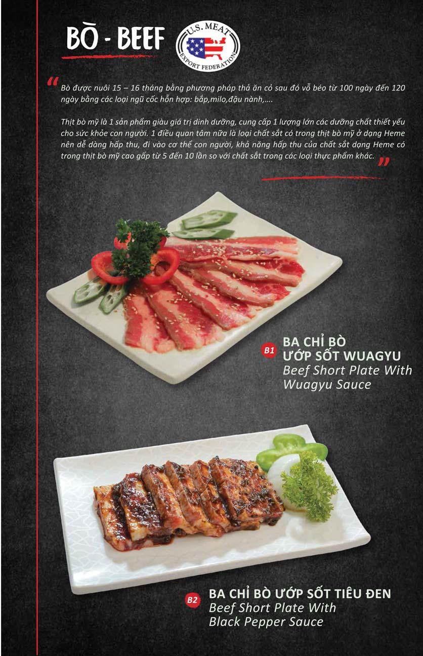 Menu Season BBQ - Bà Triệu 5
