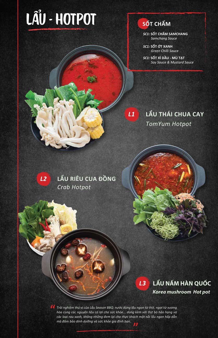 Menu Season BBQ - Bà Triệu 8