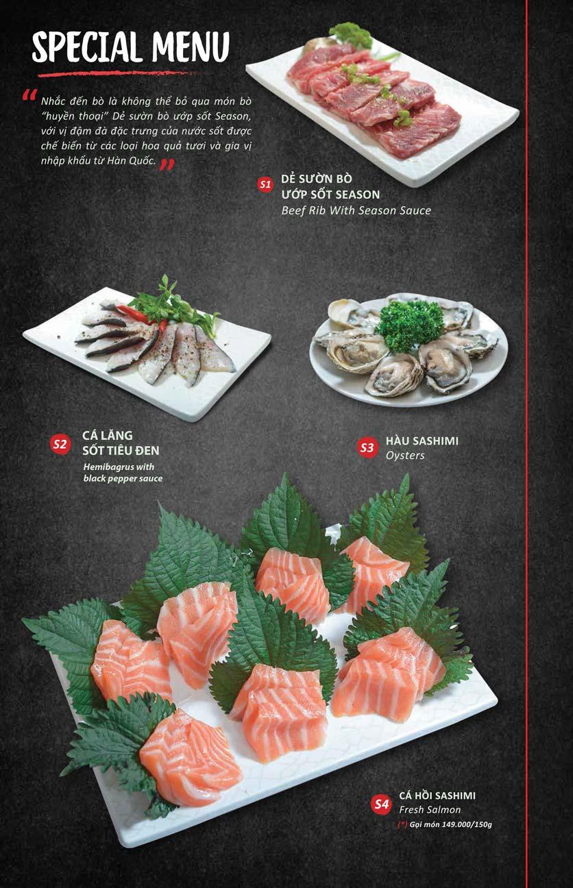 Menu Season BBQ - Bà Triệu 9