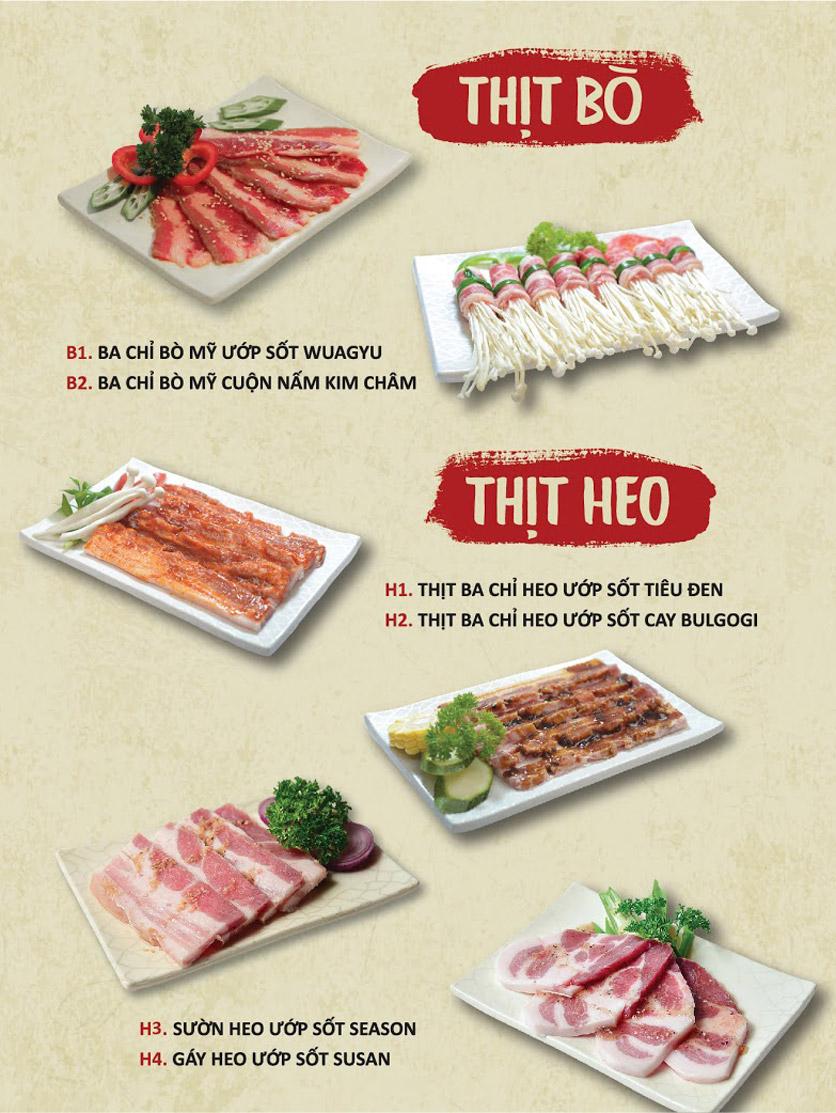 Menu Season BBQ - Bà Triệu 3