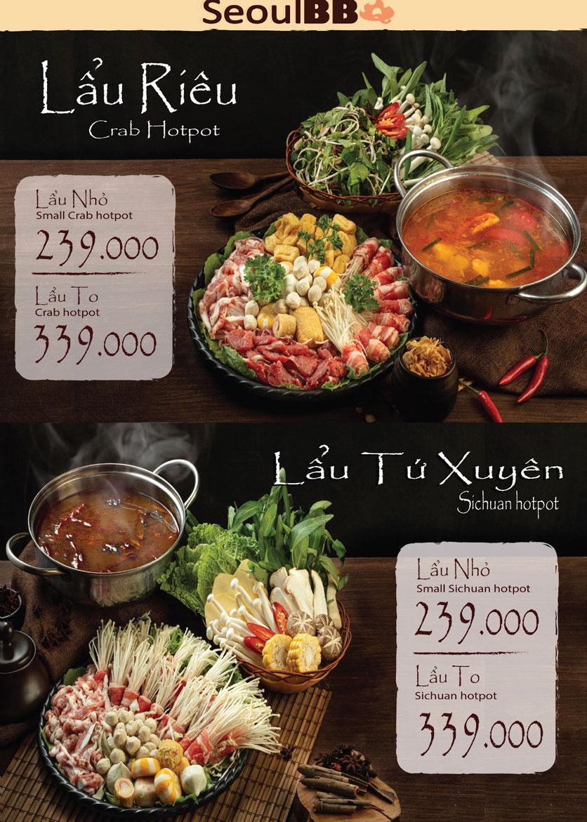Menu Seoul BBQ - Nguyễn Trường Tộ 10