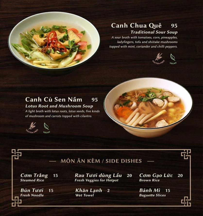 Menu Shamballa Vegetarian Restaurant & Tea House  14
