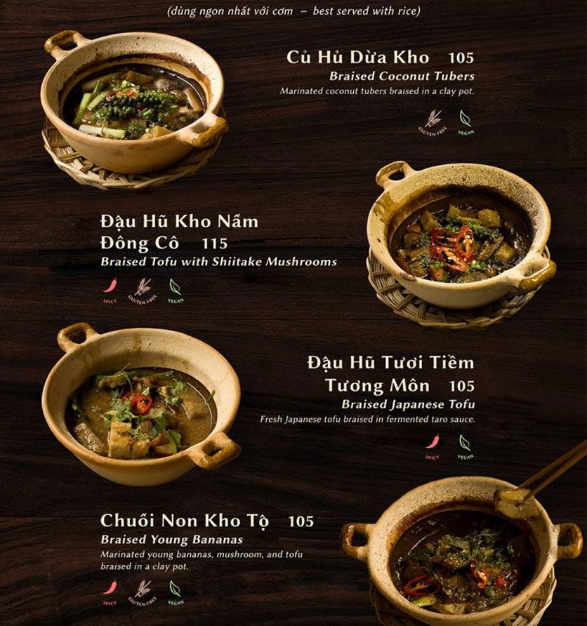 Menu Shamballa Vegetarian Restaurant & Tea House  15