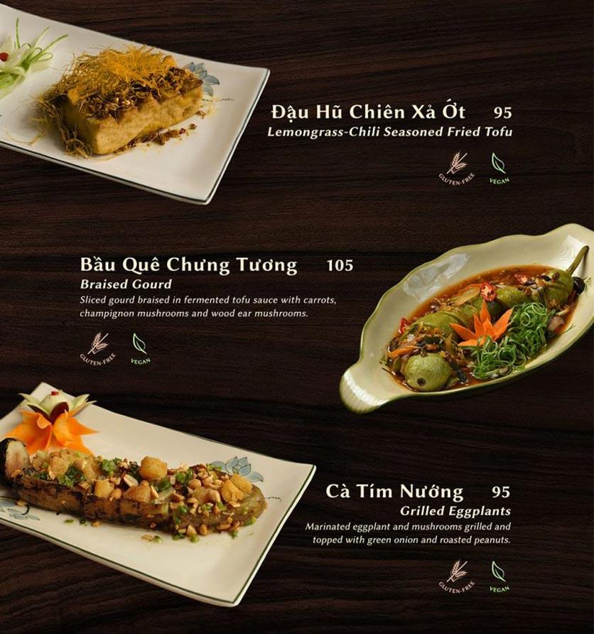 Menu Shamballa Vegetarian Restaurant & Tea House  16