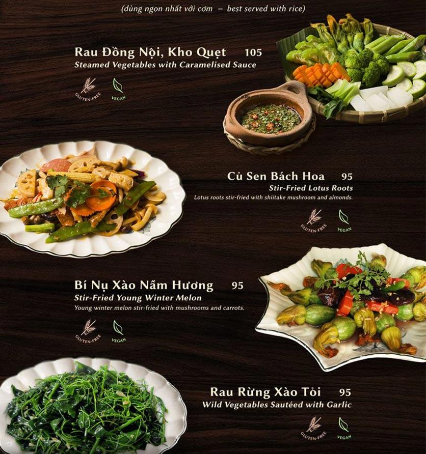 Menu Shamballa Vegetarian Restaurant & Tea House  17
