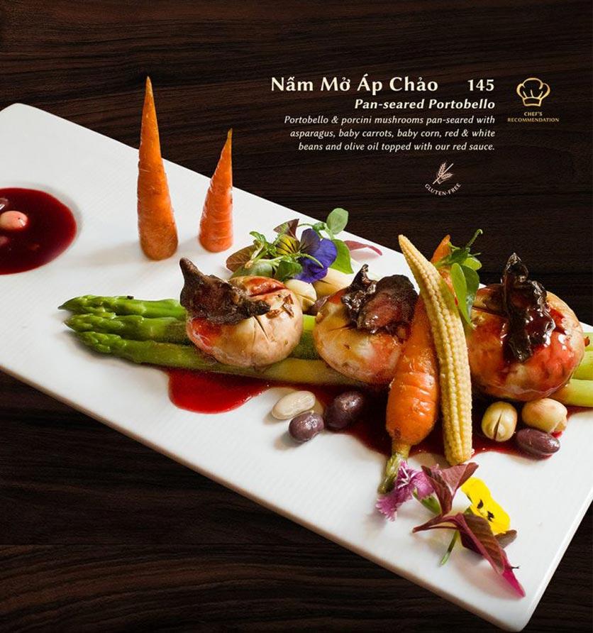 Menu Shamballa Vegetarian Restaurant & Tea House  27