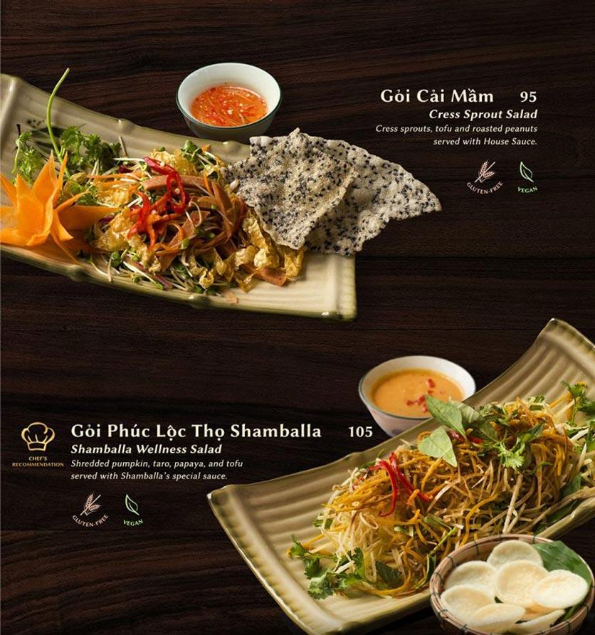 Menu Shamballa Vegetarian Restaurant & Tea House  3